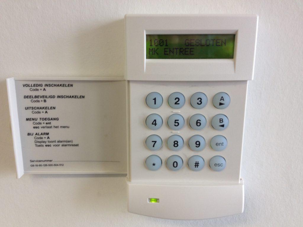 Alarmsysteem winkel of bedrijf kopen